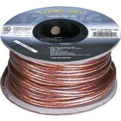Monoprice Choice Series 12AWG Oxygen-Free Pure Bare Copper Speaker Wi