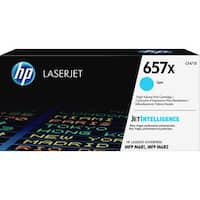 HP 657X Original Toner Cartridge - Cyan