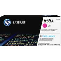 HP 655A Original Toner Cartridge - Magenta