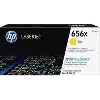 HP 656X Original Toner Cartridge - Yellow