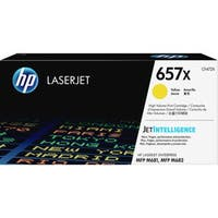 HP 657X Original Toner Cartridge - Yellow