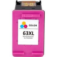 eReplacements Ink Cartridge - Alternative for HP 63XL (F6U63AN) - Tri