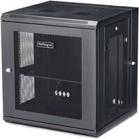 StarTech.com Wallmount Server Rack Cabinet - Hinged Enclosure - Wallm