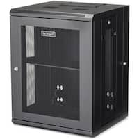 StarTech.com Wallmount Server Rack Cabinet - Hinged Enclosure - 15U -