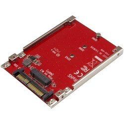 StarTech.com M.2 to U.2 Adapter - M.2 Drive to U.2 (SFF-8639) Host Ad