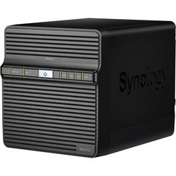 Synology Powerful Entry-level 4-bay NAS for Home Data Backup and Mult