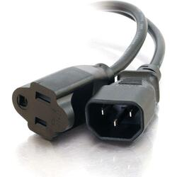 Cables To Go 3ft Monitor Power Adapter Cable