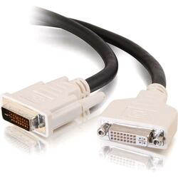 C2G 2m DVI-I M/F Dual Link Digital/Analog Video Extension Cable (6.5f
