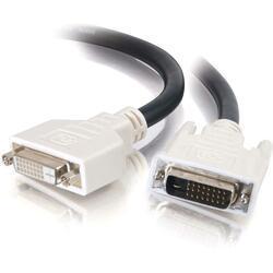 C2G 5m DVI-D M/F Dual Link Digital Video Extension Cable (16.4ft)