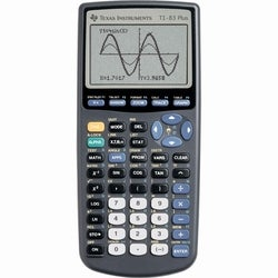 83 Plus Graphics Calculator