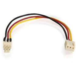 C2G 7in 3-pin Fan Power Extension Cable