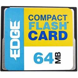 EDGE Tech 64MB Digital Media CompactFlash Card