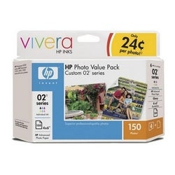 HP 02 Series Photo Value Pack