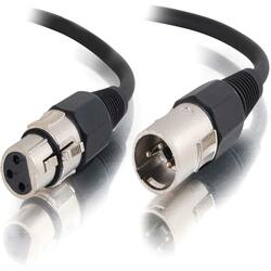 C2G 25ft Pro-Audio XLR Male to XLR Female Cable