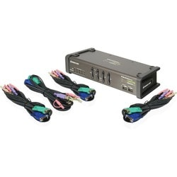 IOGEAR Miniview Symphony 4-port Multi-function KVM Switch