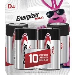 Eveready D Cell Alkaline Battery