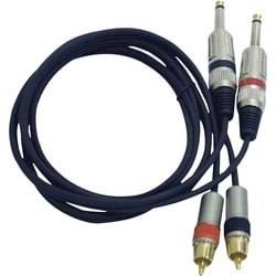Pyle Dual Professional Audio Link Cable