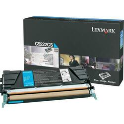 Long-Lasting Lexmark Cyan Toner Cartridge