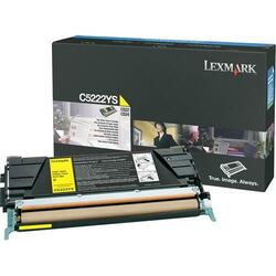 Lexmark Yellow Toner Cartridge (Single)