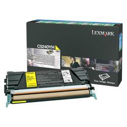 Lexmark Yellow High Yield Return Program Toner Cartridge