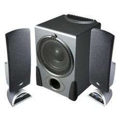 Cyber Acoustics Platinum Flat Panel Design Speaker System
