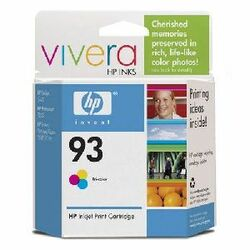 HP No. 93 Tri-color Ink Cartridge For DeskJet 5440, PhotoSmart 7850, PSC 1510 and PSC 1507
