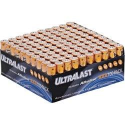 NABC UltraLast ULA100AAAB AAA Size Battery Bulk Value Pack
