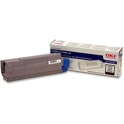 Oki Black Toner Cartridge For C5500n and C5800Ldn Printers