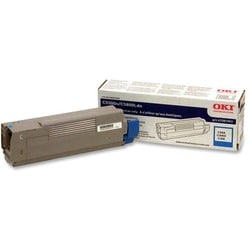Oki Cyan Toner Cartridge For C5500n and C5800Ldn Printers