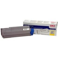 Oki Yellow Toner Cartridge For C5500n Digital Color Printer