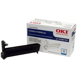Oki Cyan Image Drum For C5500n and C5800Ldn Printers