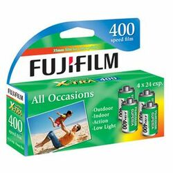 Fujifilm Superia X-TRA CH135-96 400 35mm Color Print Film Roll