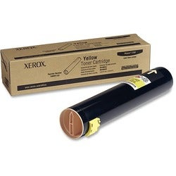 Xerox Yellow Toner Cartridge For Phaser 7760 ,7760DN, 7760GX and 7760DX Printers