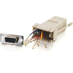 Cables To Go RJ45/DB9F Modular Adapter