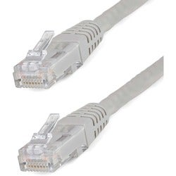 StarTech.com 20 ft Gray Molded Cat6 UTP Patch Cable - ETL Verified