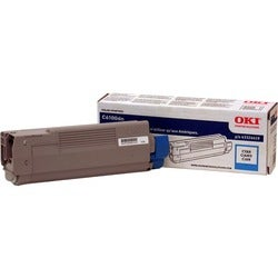 Oki Type C8 Cyan Toner Cartridge
