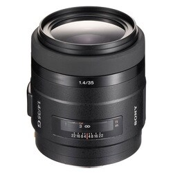 Sony SAL-35F14G 35mm f/1.4 G-Series Wide-Angle Lens (Option: Sony)
