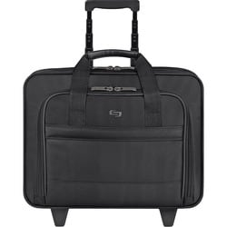 "Solo Classic Carrying Case (Roller) for 15.6"" Notebook, Accessories -"