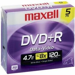 Maxell 16x DVD+R Media