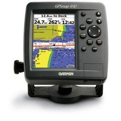 Product on garmin gps 492