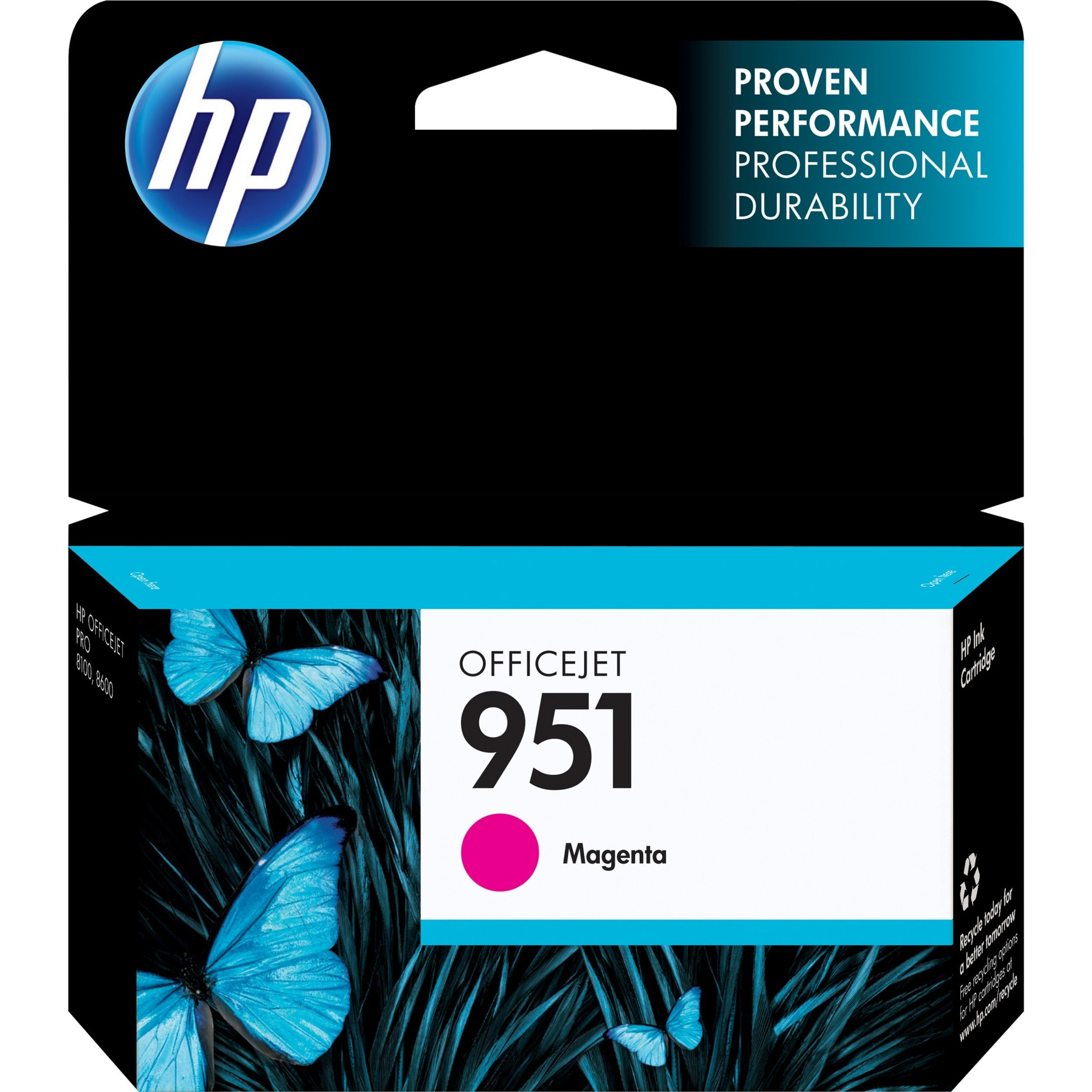 HP 951 Original Ink Cartridge - Magenta - Thumbnail 0