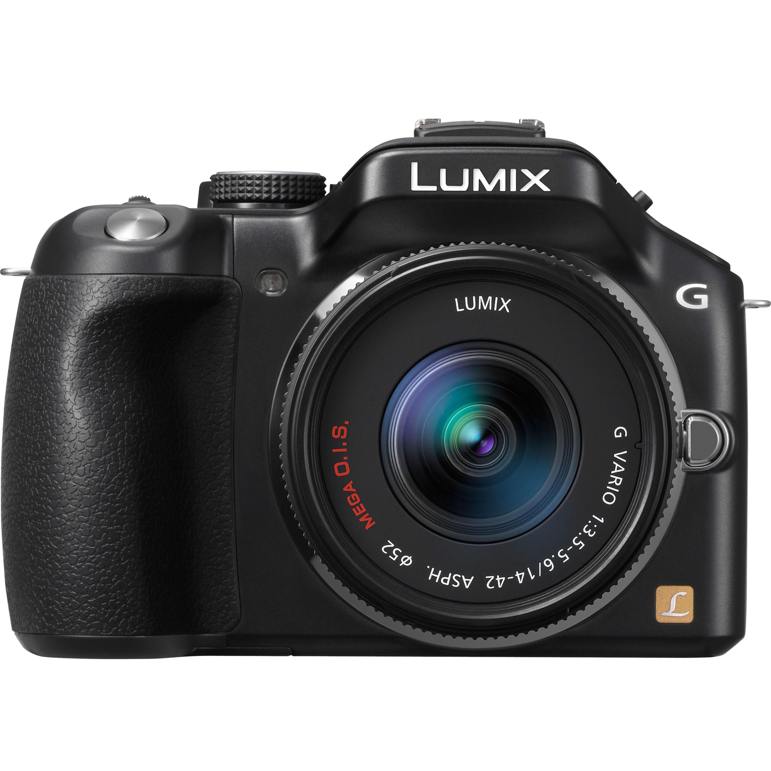 Panasonic Lumix DMC-G5KK 16.1 Megapixel Mirrorless Camera with Lens -
