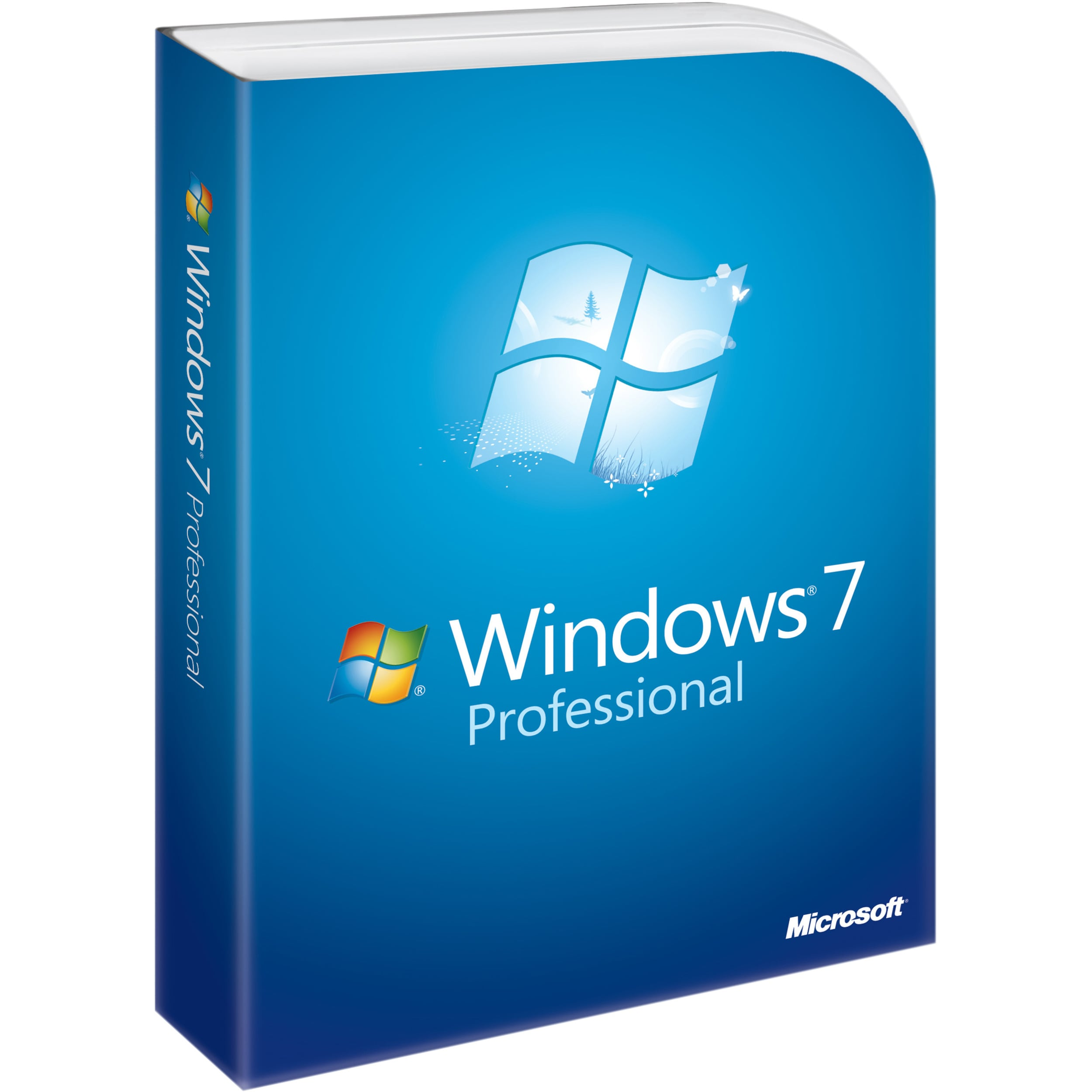 Microsoft Windows 7 Professional With Service Pack 1 32-b...