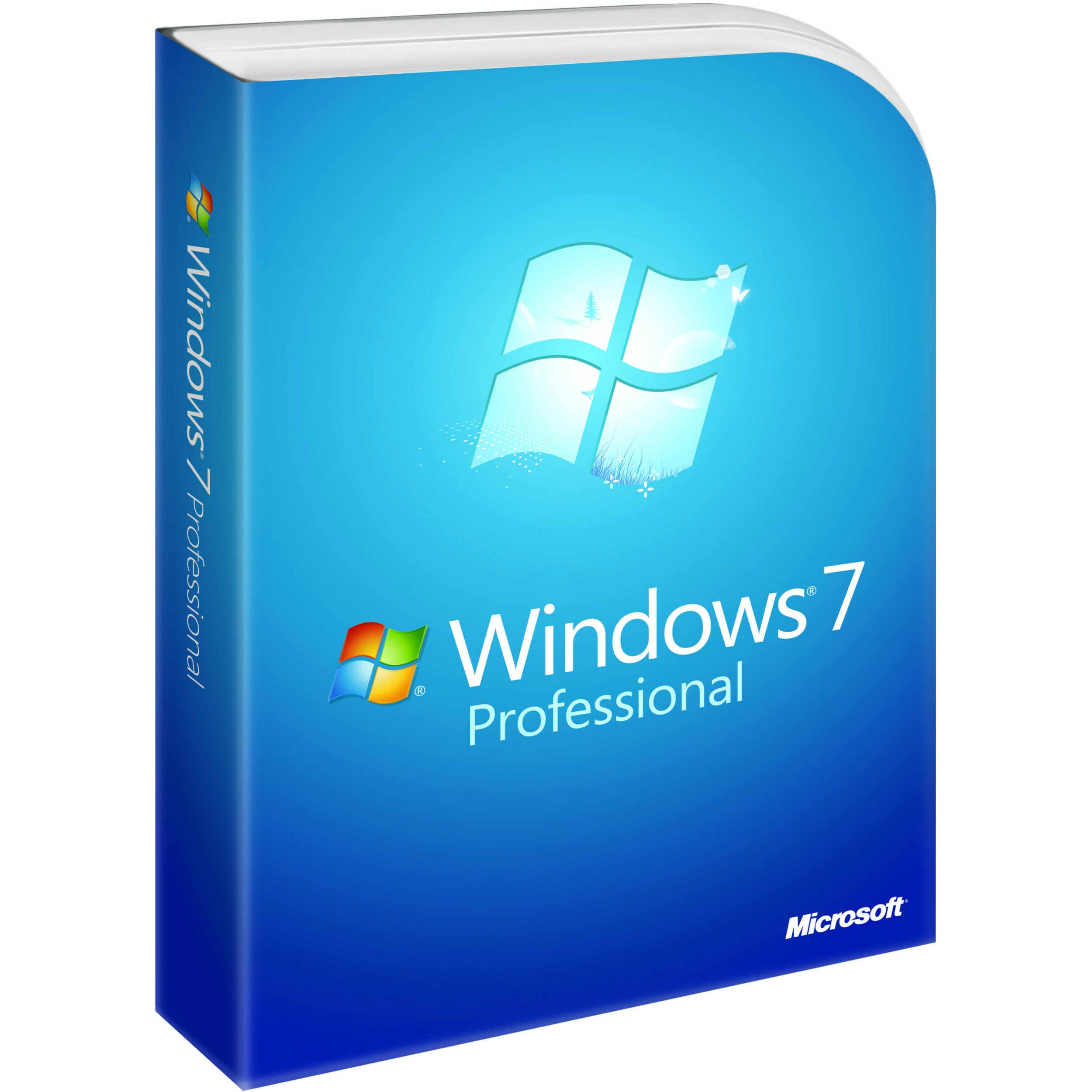 Microsoft Windows 7 Professional With Service Pack 1 64-b...