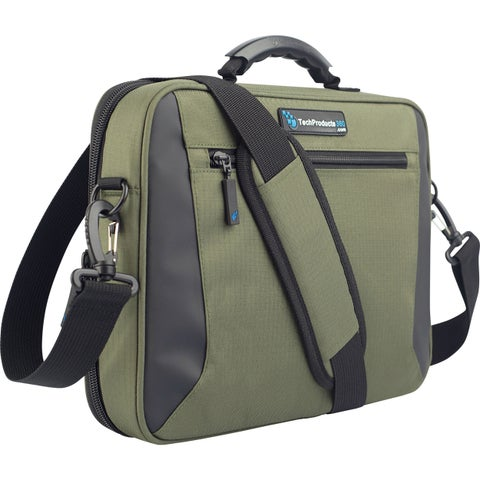 """TechProducts360 Alpha Carrying Case for 11"""" Netbook - Green"""