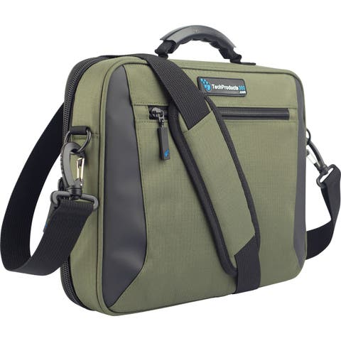 "TechProducts360 Alpha Carrying Case for 11"" Netbook - Green"