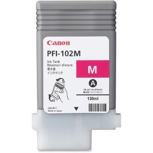 Canon Magenta Ink Tank For imagePROGRAF iPF500, iPF600, and iPF700 Printers