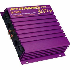 PYRAMID PROPLUS PB180PX 4-Channel Car Amplifier (Refurbished)