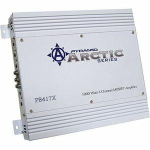 PYRAMID ARCTIC PB417X 4-Channel Car Amplifier