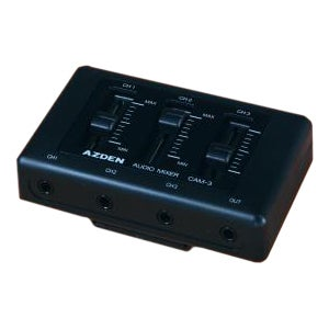 Azden CAM-3 Audio Mixer